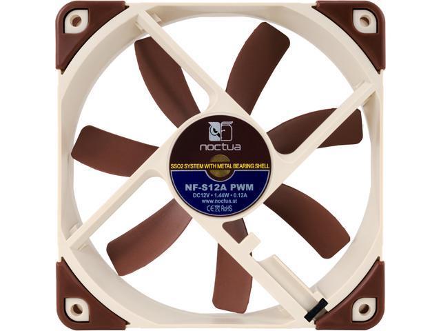 Noctua NF-S12A PWM, 4-Pin Premium Cooling Fan (120mm) - Newegg com