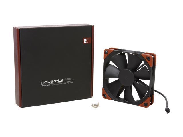 3-Pin Noctua NF-F12 iPPC-2000 2000 RPM 120mm Black Heavy Duty Cooling Fan