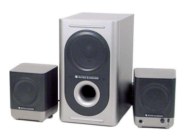 ALTEC LANSING 221 Speakers - Newegg com