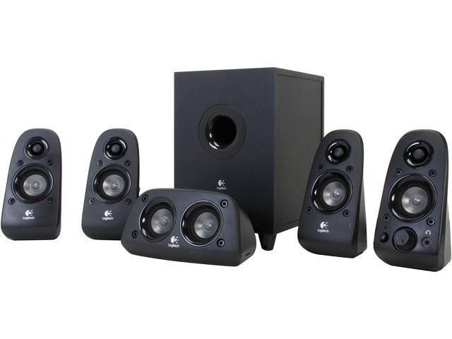 6012b298551 Logitech A-Grade Certified Refurbished Z506 (980-000430) 5.1 Surround Sound  3D