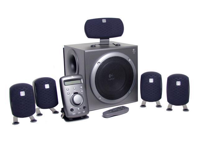 logitech z 680 speakers newegg com Logitech Z 560 Subwoofer