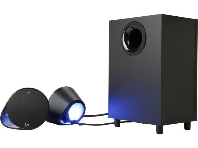 Logitech G560 G Lightsync PC Gaming Speaker - Newegg com
