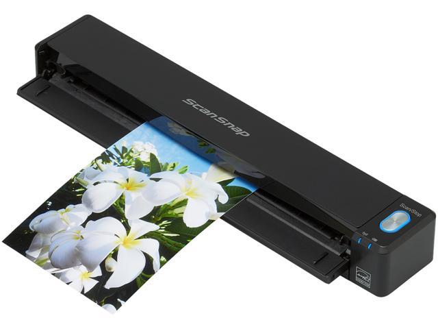 Fujitsu ScanSnap iX100 Mobile Scanner for Mac and PC Wireless