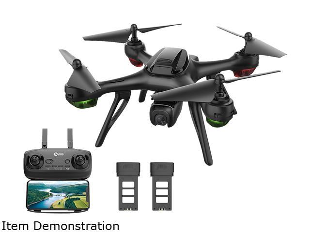 HolyStone HS130D GPS FPV Drone avec 2K FHD Camera, 5G Wi-FI transmission, Bonus Battery