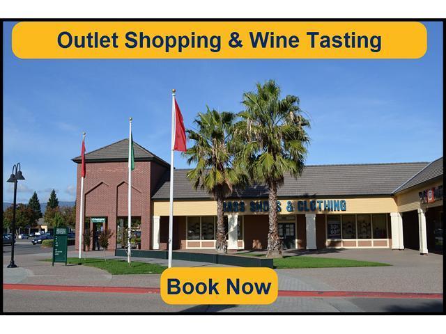 6c87cb08ed17 San Francisco Premium Outlet Shopping   Napa Wine Tasting Tour  E-Ticket