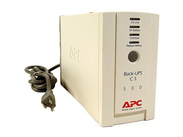 APC Back-UPS BK500 UPS - Newegg com