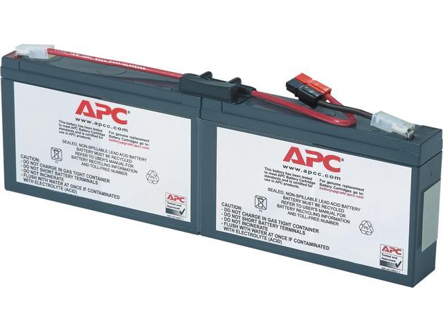 apc rbc18 replacement battery cartridge 18. Black Bedroom Furniture Sets. Home Design Ideas