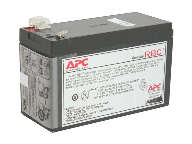 APC UPS Battery Replacement for APC Back-UPS Models BE500R, BE550MC,  BK300C, BK350, BK500, BK500BLK, BK500M, BK500MC, BK500MUS, and SC420,  SU420NET