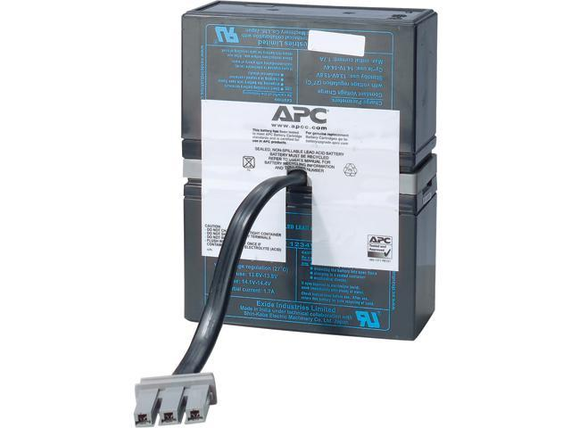 APC UPS Battery Replacement for APC Back-UPS APC UPS Models BT1500,  BT1500BP, BR1500, BX1500, SC1000, SN1000 (RBC33) - Newegg com