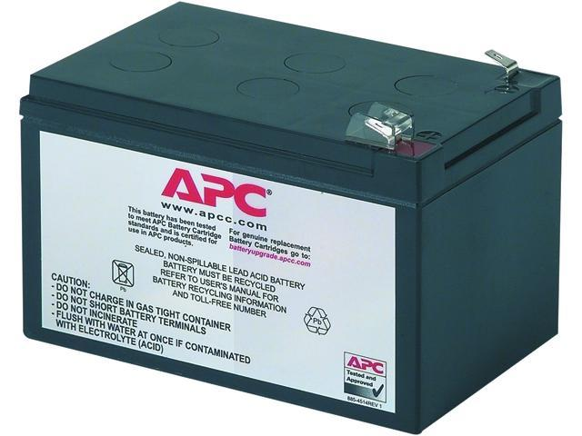APC UPS Battery Replacement for APC Back-UPS models SC620, SU620NET (RBC4)  - Newegg com