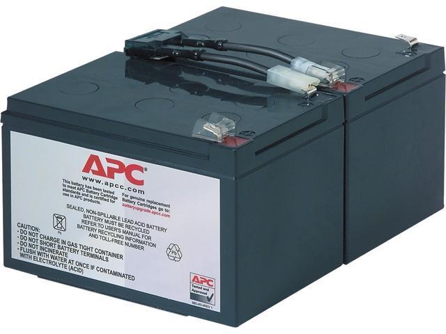 APC UPS Battery Replacement for APC UPS Models SMT1000, SMC1500, SMT1000C,  SMT1000US, SU1000, SU1000BX120, SUA1000US, SUA1000 (RBC6) - Newegg com