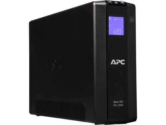 APC BR1000G Back-UPS Pro 1000VA 8-outlet Uninterruptible Power Supply (UPS)  - Newegg com