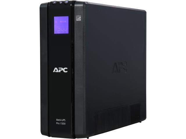 APC by Schneider Electric BR1500G 120V Backup System - 1500 VA/865 W - 120  V AC - 3 Minute Stand-by Time - Tower - 5 x NEMA 5-15R, 5 x NEMA 5-15R -
