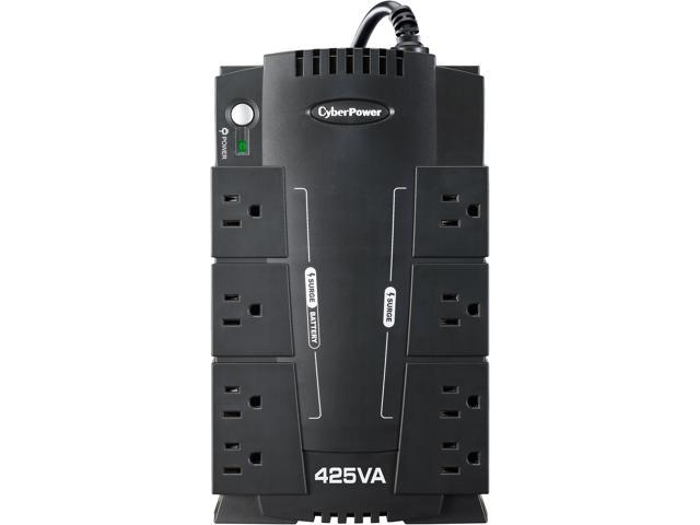 CyberPower Standby Series CP425SLG 425 VA 255 Watts 8 Outlets UPS -  Newegg com