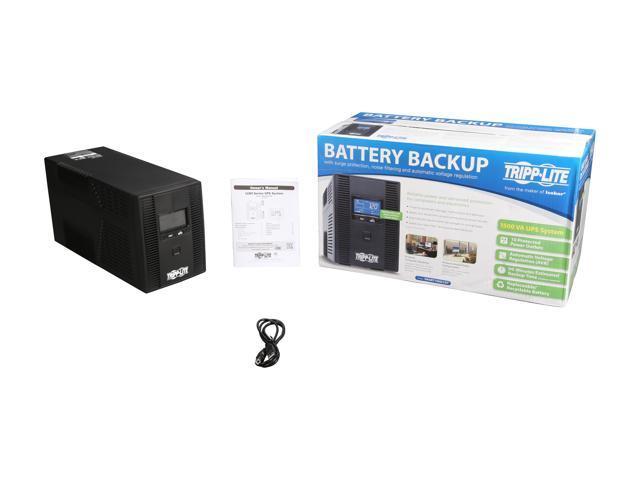 Tripp Uninterruptible Power Supply UPS Lite 1500VA Battery Back Up AVR LCD 10