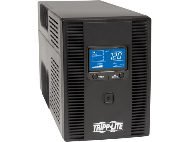 Tripp Lite SMART1500LCDT 1500VA 900W UPS Back Up Smart Tower LCD AVR 120V  USB Coax RJ45 - Newegg com