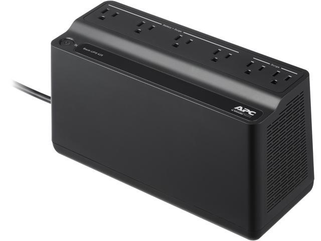APC BE425M Back-UPS 425 VA 255 Watts 6 Outlets Uninterruptible Power Supply  (UPS) - Newegg com
