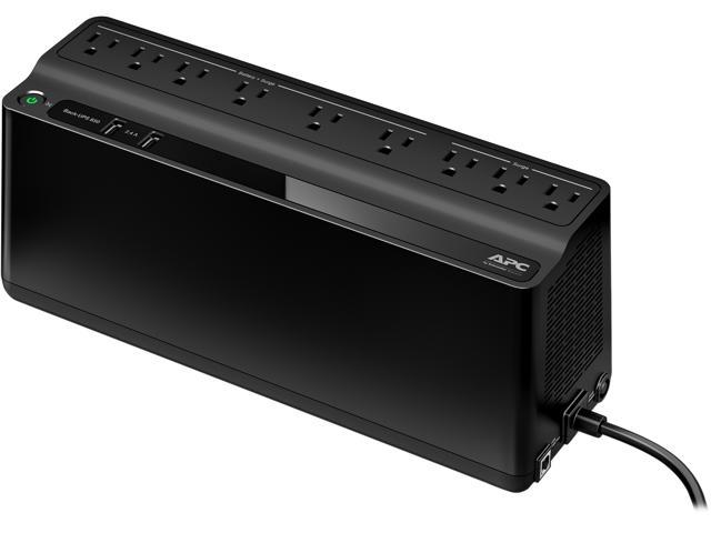 APC BE850M2 850 VA 450 Watts 9 Outlets UPS Back Up Power Supply (Step-up  Model of BE750G) - Newegg com