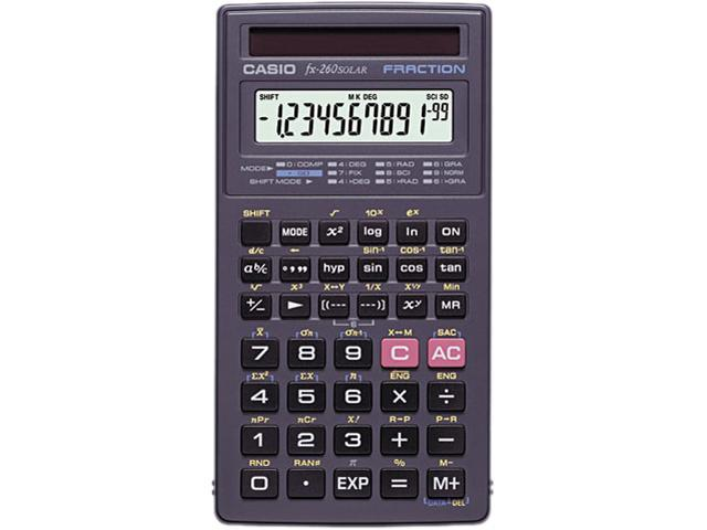 Image result for casio fx- 260 solar fraction