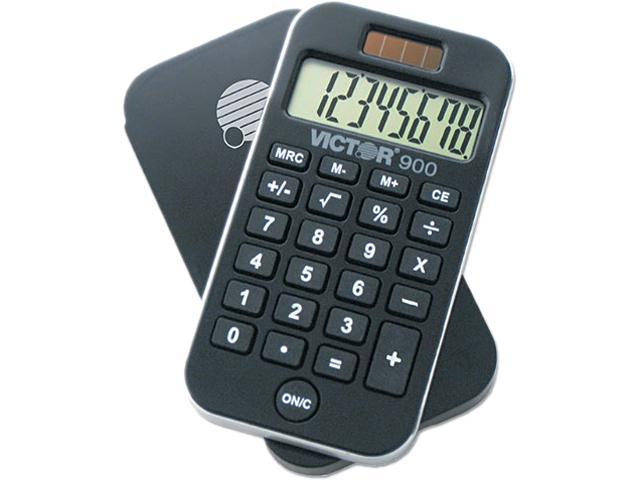 Eight-Digit LCD Victor 700 Handheld Calculator