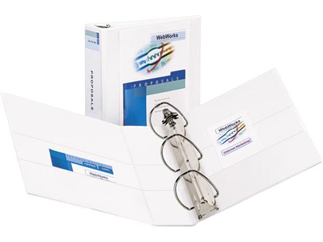 avery 09701 durable slant easy insert ring view binder 3 capacity