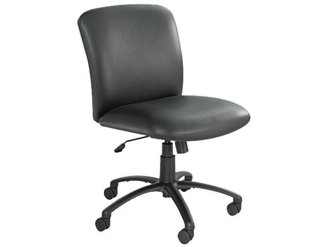 Safco 3491bv Uber Series Big Tall Swivel Tilt Mid Back Chair Vinyl Black Newegg Com
