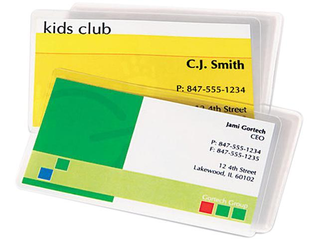5 Mil 100//Pack Scotch ID Badge Size Thermal Laminating Pouches 4 1//4 x 2 1//5