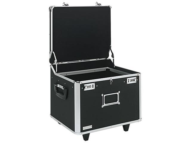 Vaultz VZ01270 Lock Mobile File Chest Storage Box, Letter/Legal, Black -  Newegg com