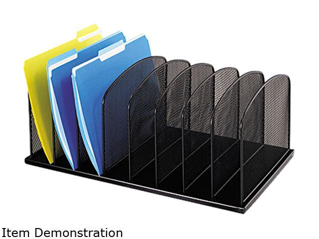Steel 9 x 11 3//8 x 8 11 Comp Fellowes 72112 Wire Desktop Organizer Black