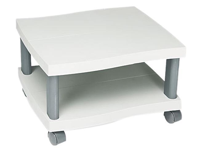 Safco 1861gr Wave Design Printer Stand 2 Shelf 20w X 17 1