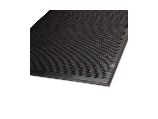 Guardian Clean Step Outdoor Rubber Scraper Mat Polypropylene 36 x 60 Black