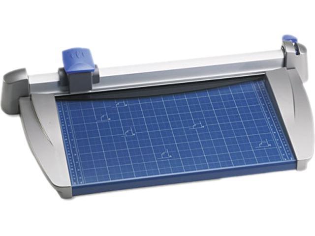 Carl 12200 Bidex Professional 10-Sheet Rotary Trimmer 12 x 11 Metal Base