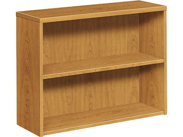 Swell Hon 105532Cc 10500 Series Bookcase 2 Shelves 36W X 13 1 8D X 29 5 8H Harvest Newegg Com Home Interior And Landscaping Elinuenasavecom