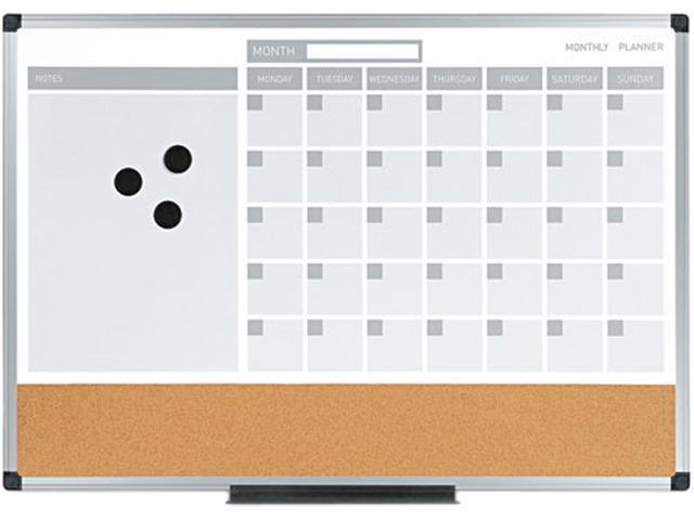 Mastervision Mastervision 3 In 1 Planner 24x18 Dry Erasecalendar
