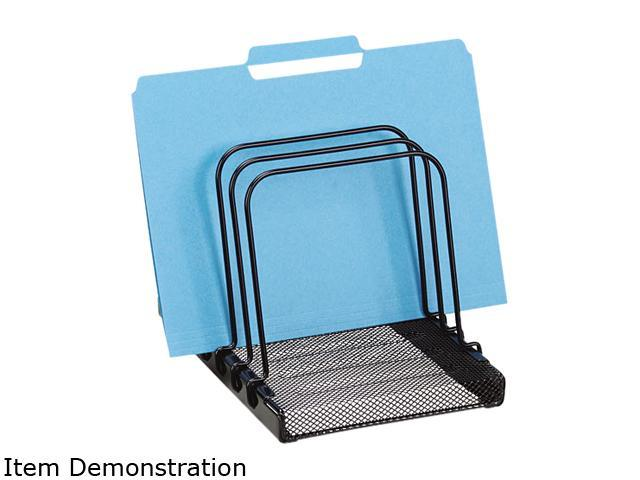 Rolodex 1742323 Mesh Flip File Folder Sorter Five Sections Black 7 4 5 X 1 7 8 X 10 2 5 Newegg Com