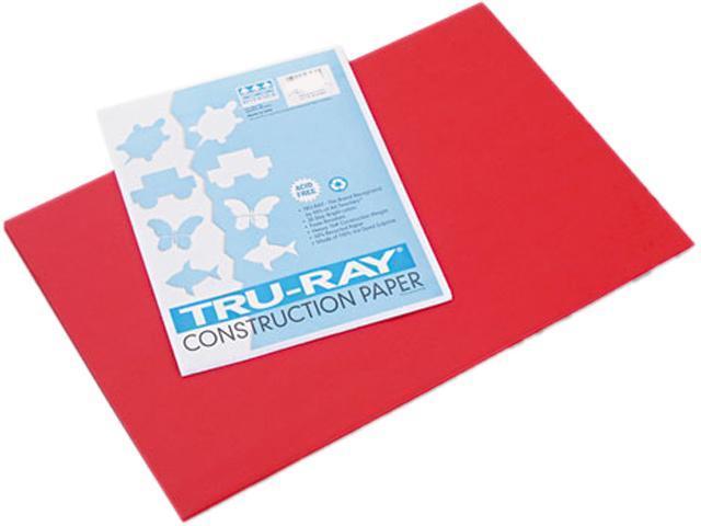 Pacon Tru-Ray Construction Paper 76 lbs. 50 Sheets//Pack 12 x 18 Tan 103055