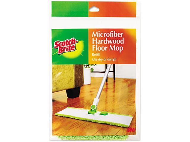 Scotch Brite M 005 R Hardwood Floor Mop Refill Microfiber