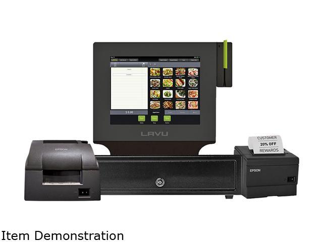 Lavu Point Of Sale For Restaurants Ipad Pos Dual Printer Newegg Com