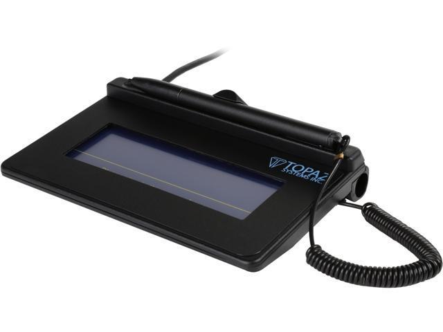 Topaz SigLite T-S460-HSB-R 1x5 T-S460 Series HID-USB Signature Capture Pad  - Newegg com