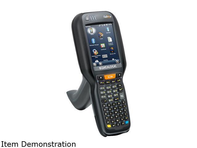 Datalogic 945250064 Falcon X3+ 52-Key Alphanumeric Mobile Computer with  Pistol Grip, VGA, 802 11 a/b/g/n CCX V4, Bluetooth 2 1, 256MB RAM/1GB  Flash,