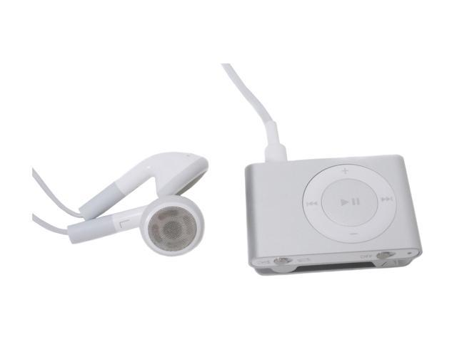 apple ipod shuffle 2nd gen silver 1gb mp3 player. Black Bedroom Furniture Sets. Home Design Ideas