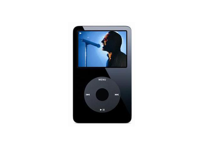 Used Very Good Apple Ipod Video 2 5 Black 30gb Mp3 Mp4 Player Ma146ll A Newegg Com
