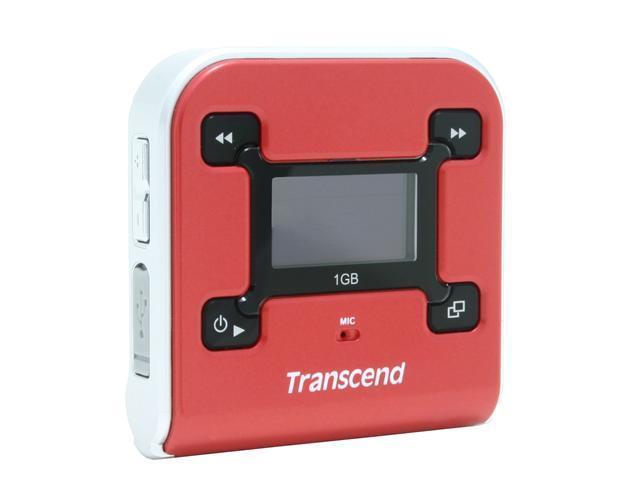 Transcend T sonic 620 Red 1GB MP3 Player - Newegg com