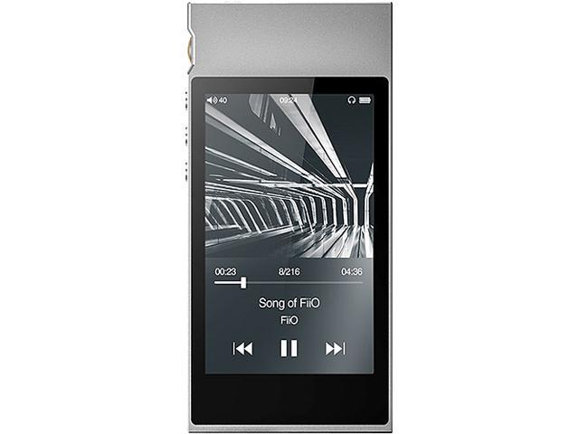 FiiO M7 High Resolution Lossless Music Player with aptX, aptX HD, LDAC HiFi  Bluetooth, FM Radio and Full Touch Screen (Silver) - Newegg com