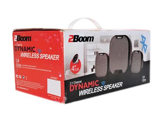 2Boom CSP360BT 2 1-Channel Dynamic Bluetooth Speaker - Newegg com