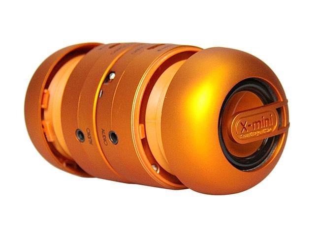 X-Mini Max Portable Capsule Speaker System Stereo Orange New Universal