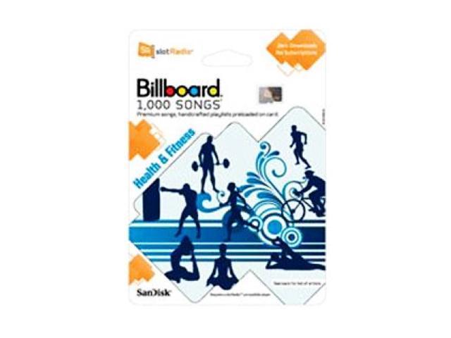 SanDisk slotRadio (1000 Songs) Health & Fitness Card - Newegg com