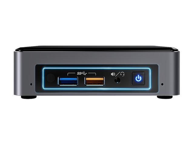 Intel NUC (Next Unit of Computing) BOXNUC7I3BNK Black Barebone Systems -  Mini / Booksize - Newegg com
