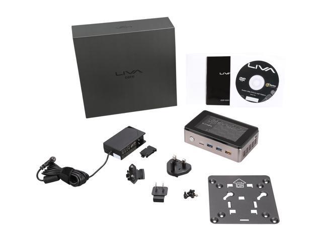 LIVA Core Mini PC Intel Broadwell Core M-5Y10C SOC 4GB DDR3L 120GB M 2 SSD  Fanless No OS - Newegg com