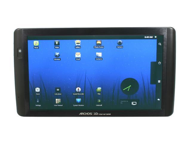 archos 101 internet tablet 8gb running google android wi fi rh newegg com Archos 101 Internet Tablet Review archos 101 g9 user manual